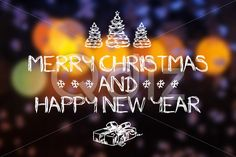 Qdiz Stock Images Merry Christmas and New Year greeting card,  #background #blur #blurred #blurry #bokeh #card #celebration #Christmas #draw #drawing #eve #fantastic #fantasy #glowing #greeting #hand #holiday #light #magic #Merry #new #postcard #retro #season #traditional #vintage #winter #xmas #year #yellow