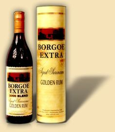 Borgoe Extra Aged rum from Suriname. Another rum that is on my radar for 2012.