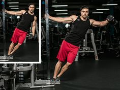 SHOULDERS - Encourage new muscle growth in your delts with a handful of rut-busting movements.