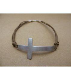 ανδρικό βραχιόλι σταυρός