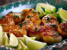 Cilantro lime scallops food network