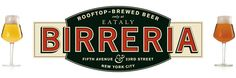 Birreria, beer garden, beer restaurant, rooftop, roof top, outdoor seating, beer, Eataly NY, italian ny, italy ny