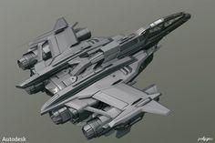 Spaceship, Alan Van Ryzin on ArtStation at http://www.artstation.com/artwork/spaceship-2980aa48-b9ce-4ce9-b715-75ce3f6e2df6