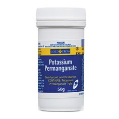 Potassium Permanganate - Can help ease symptoms of pompholyx  Chemist Warehouse®