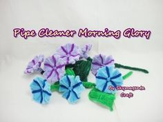 Pipe Cleaner Craft - Hibiscus Flower - YouTube