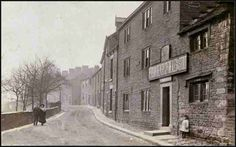 Bulls Head Pub Old Glossop in 1910 Domesday Book, South Yorkshire, Places Of Interest, Derbyshire, Vintage Photos, Monochrome, England, Weather, Times