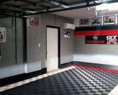 50 Garage Paint Ideas For Men - Masculine Wall Colors And Themes - - Life a fresh coat on a classic car, bring your space back to life with the top 50 best garage paint ideas for men. Discover manly wall colors and designs. Garage Paint Colors, Painted Garage Walls, Garage Floor Paint, Wall Colors, Painted Garage Interior, Garage Flooring, Man Cave Garage, Car Garage, Garage Doors