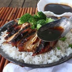 STICKY ASIAN GRILLED