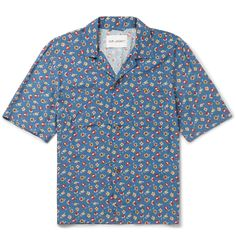 Our Legacy - Camp-Collar Floral-Print Voile Shirt