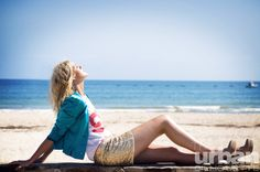 Jacket: Little Blu Bird, T-shirt: Wildfox, Shoes: model's own