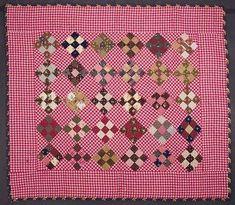 19th century crib quilt