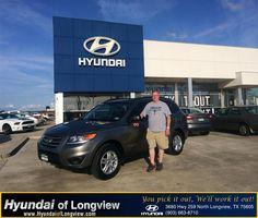 #HappyBirthday to Bert Almand from Danny Belew at Hyundai of Longview!