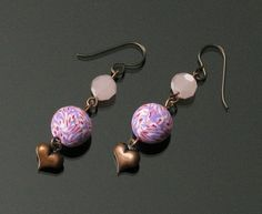 Hey, I found this really awesome Etsy listing at https://www.etsy.com/listing/217500695/copper-heart-earrings-tribal-earrings