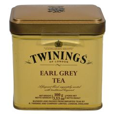Twinings Tea】 Earl Grey Tea Precipitate your mood 唐寧伯爵茶的 ...