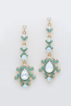 Lamire Crystal Earrings