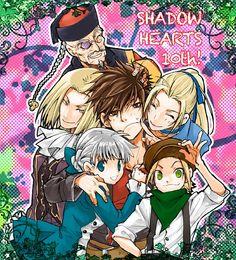 Shadow Hearts, Alice Elliot, Yuri Hyuga, Keith Valentine, Margarete G. Zelle, Zhuzhen Liu and Halley Branckett