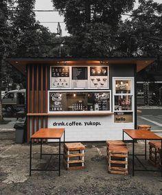Coffee shop bar, coffee shop design и small coffee shop. Cafe Shop Design, Coffee Shop Interior Design, Small Cafe Design, Kiosk Design, Coffee Design, Design Design, Coffee Shop Bar, Small Coffee Shop, Coffee Store
