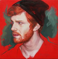 John TARANTOLA. Red [oil on panel].