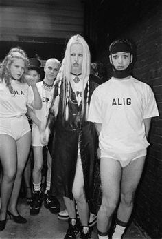 Michael Alig. Who wouldn't want to run around in their underwear?