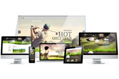 HotJoomlaTemplates - HOT Golf - Responsive Joomla Template DEMO Golf is a very relaxing and interesting sport that\'s performed outside, usually in beautiful nature surroundings. Joomla Templates, Wordpress Template, Wordpress Theme, Themes Photo, Web Themes, Joomla Themes, Web Golf, Site Down