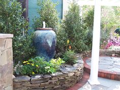 ... , fountains, vases, rock bubblers and even pondless water falls