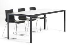 8000c - Kant spisebord hos BoShop - Spiseborde i Århus