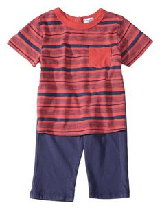 Stylish set for the tiny trendsetter 	Unparalleled in softness 	Signature Splendid stripes 	Includes our essential pant