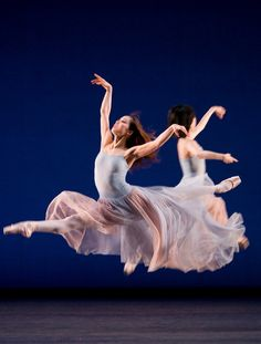 Balanchine's Serenade was inspired by Tchaikovsky's 1880 Serenade for Strings. Photograph: Bill Cooper