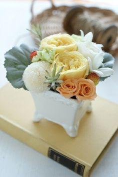 敬老の日にありがとう http://ameblo.jp/flower-note/entry-11013589197.html