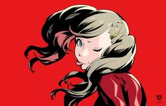 Panther All-Out Attack Porrtrait - Persona 5 Persona 5 Ann, Persona 5 Makoto, Little Big Planet, Santa Monica Studios, Character Aesthetic, Character Design, Character Inspiration, Ps4, Shin Megami Tensei Persona