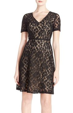 Marc New York Lace Fit & Flare Dress available at #Nordstrom