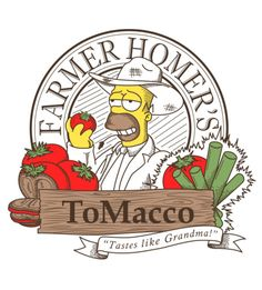 Homer - ToMacco, The Simpsons