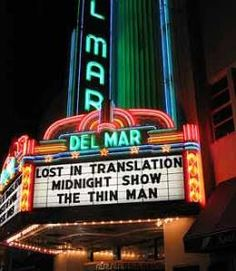 Del Mar Theater (Santa Cruz): The city paid to renovate this classic 1930s theater and it's run by the guy who owns The Nickelodeon, another excellent movie house around the corner. The Del Mar's main room has tiered seating with 500 seats, and the programming serves the eclectic community. (The midnight movies range from Hitchcock to Henson.) This may be the best place in the Bay Area to see an art film.