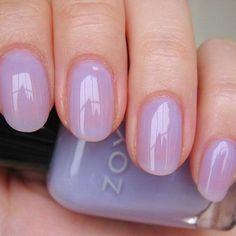Zoya - Miley - Soft Pale Lavender Lilac Purple Sheer Jelly Nail Polish ZP432