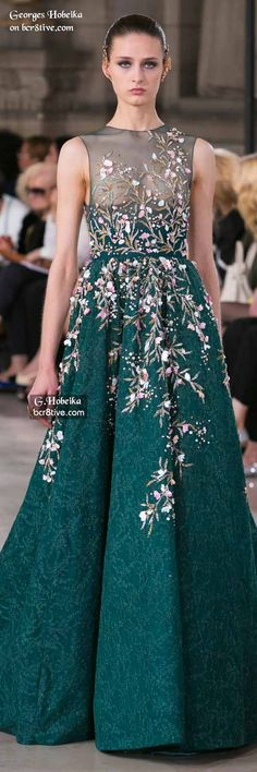 Georges Hobeika Fall 2016 Haute Couture