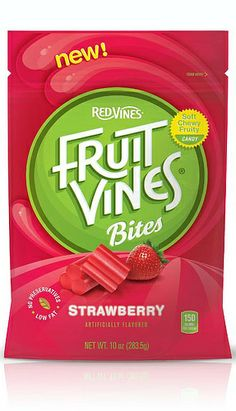 Fruit Vines Bites from Red Vines, strawberry flavoured Compliments of Influenster @Influenster # FrostyVoxBox
