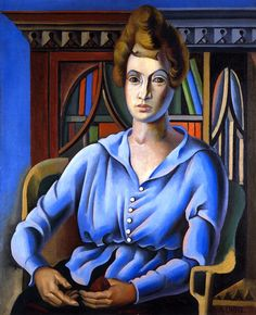 Mademoiselle Hering, 1920 by André Lhote (French, 1885–1962)