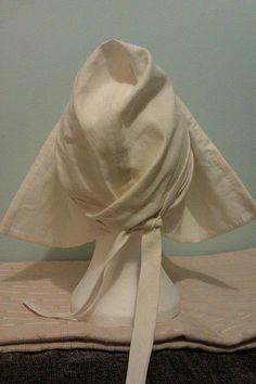 Women's linen coife
