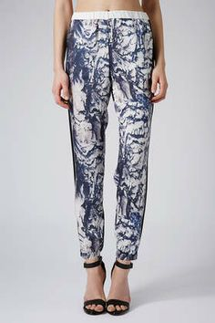Aerial Stripe Luxe Joggers