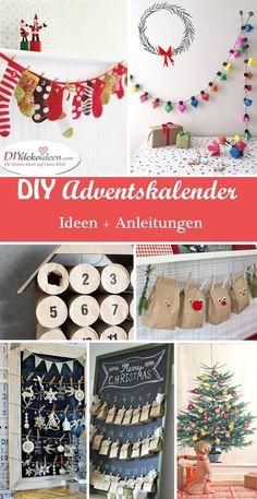 DIY kreative Adventskalender selber basteln