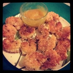 The Primordial Table: Crispy Coconut Shrimp with Spicy Mango Dipping Sauce (AIP)