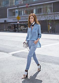 Blue on blue - Tsangtastic blog