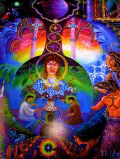 Pablo Amaringo left us with a treasure of the ayahuasca visions he had while he was a shaman!