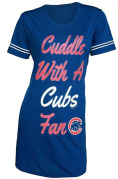 1a3253a89c971 Chicago cubs womens tradition night shirt by concepts sport