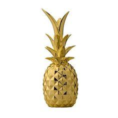 Pineapple Deko - gold - Bloomingville