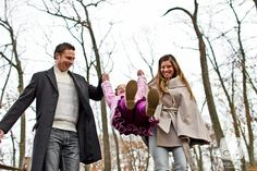 Engagement/Family Portrait Session at Tyler State Park in Newtown, PA © Angelina M. Photography, LLC