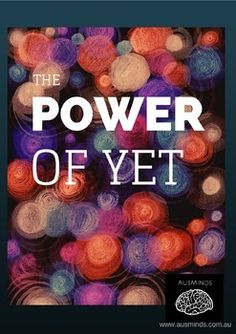 A perfect poster to display in your classroom to refer your students back to the importance of the three words 'The Power of Yet'. Those three words 'ROCK'!
