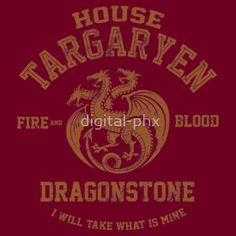 Team Targaryen (Gold) by digital-phx
