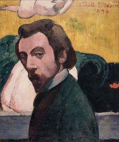 Émile Bernard · Autoritratto · 1890 · Ubicazione ignota