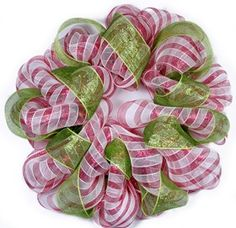 This site has lots of tutorials on using mesh to make wreaths and other decor items.